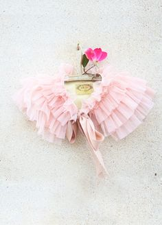 Gia Ruffled Capelet in Blush