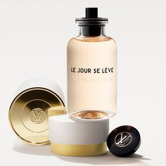 Louis Vuitton Le Jour Se Léve bottle  The scent contains notes of mandarin from Italy, sambac jasmine, and black currant accord. Mom will love how it smells like the fresh morning air.