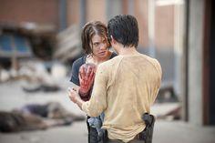 Walking Dead': Steven Yeun's Glenn is beating heart of AMC series ...