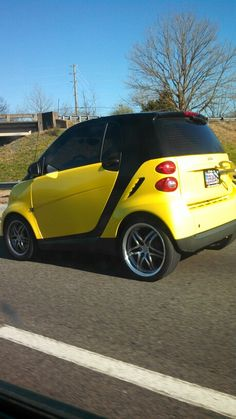 Windup smart car!