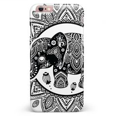Indian Mandala Elephant iPhone 6/6s or 6/6s Plus Candy Shell Case