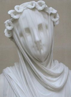 Veiled Vestal Virgin, Raffaele Monti