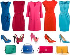 """""""Bright Spring Dresses for Work"""" by mpsakatrixie on Polyvore"""