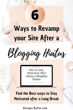 Have you taken a much needed break from blogging and have no idea how to get back on track? Then check out my post on How to Stay Motivated After Taking a Blogging Hiatus! Tips and Tricks every blogger needs to know!