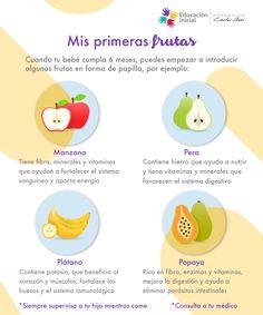 a que edad empiezan a comer fruta los bebes