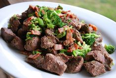 Bacon Beef Broccoli Fusion - Life Made Full www.lifemadefull.com