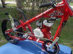 Motorized bike 3 speed transmission system and jackshaft component [ shift kit ]. Gas Powered Bicycle, Bicycle Engine Kit, Electric Bike Kits, Chopper Bike, Mini Chopper, Diy Go Kart, Motorised Bike, Bobber Bikes, Scooter Bike