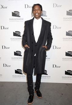 A$AP Rocky - Dior event at the Guggenheim