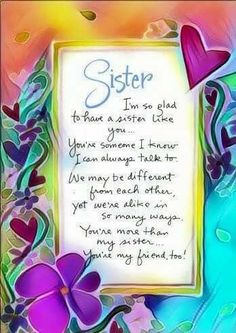 Top & Dear Little Sister Quotes Little Sister Quotes, Sister Poems, Sister Quotes Funny, Love My Sister, Little Sisters, Sister Cards, Poems For Sisters, Brother To Sister Quotes, Quotes About Sisters