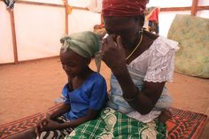 The lost children of Nigeria: Boko Haram orphans thousands | Jummai Joshua and her grandmother