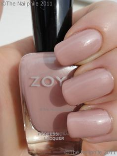 Zoya Pandora...nude with just a hint of color