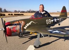 Road to Top Gun — Greg Wright — Bubbletop P-47 Thunderbolt