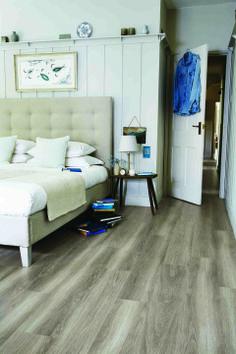 Buy Nordic Oak Tick Amtico Spacia Wood Luxury Vinyl Tile Flooring from our Vinyl Flooring range at John Lewis & Partners. Tile Bedroom, Oak Bedroom, Bedroom Flooring, Modern Bedroom, Master Bedroom, Bedroom Benches, Hallway Flooring, Amtico Flooring Kitchen, Kitchen Floor