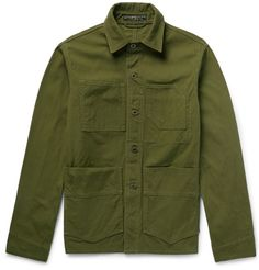 Freemans Sporting Club Cotton-Canvas Chore Jacket ($320)