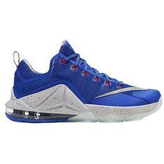 promo code e723c 3f4a7 Nike LeBron 12 Low - Men s - James, Lebron - Hyper Cobalt Metallic Silver