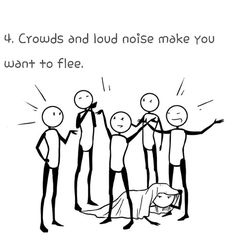 Things Only Someone with MS Would Understand ! When the  Crowds  are so noisy and it makes you flee...  Multiple Sclerosis #Awareness