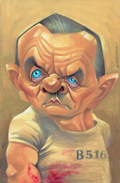 [ Anthony Hopkins ]  - artist: Joan Vizcarra - website: http://www.vizcarra.info