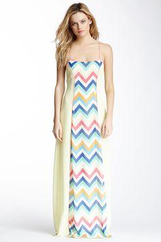 Chevron Column Dress on HauteLook