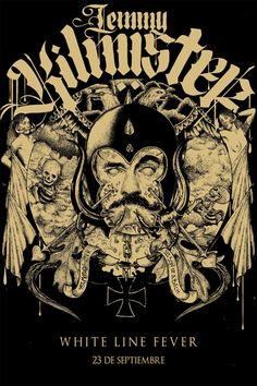 Lemmy Kilmister - Juan Machado - 2013 ----