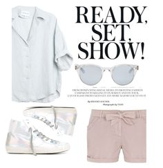 """""""Ready, set. Show!"""" by grassgrvsk ❤ liked on Polyvore featuring Sun Buddies, Dorothy Perkins and Philippe Model"""