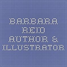 Barbara Reid Author & Illustrator Art Lesson Plans, Art Lessons, Illustrator, Company Logo, Author, Student, How To Plan, Youth, Color Art Lessons