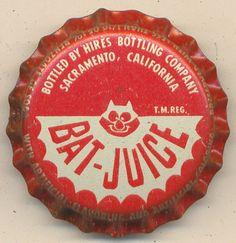 Bat-Juice - Vintage bottle cap
