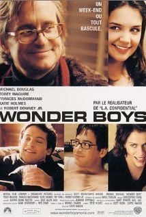 Wonder Boys, a film by Curtis Hanson.    This film got largely overlooked when it was released but is truly a gem -- great performances by Michael Douglas and Tobey Maguire, written by Steve Kloves (based on the book by Michael Chabon) and also with Robert Downey Jr. and Frances McDormand.