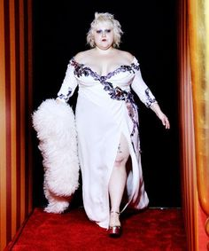 Beth Ditto Walks In Marc Jacobs' Show, Kills It #refinery29  http://www.refinery29.com/2015/09/94246/beth-ditto-marc-jacobs-fashion-week-spring-2016