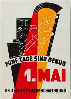1. Mai Plakate