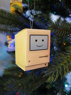 happy mac papercraft