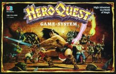 Hero Quest Boardgame