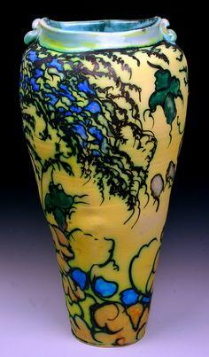 Floral Tower Vase by George Pearlman | GeorgePearlman.com