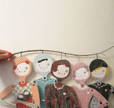 articulated paper dolls inspiration