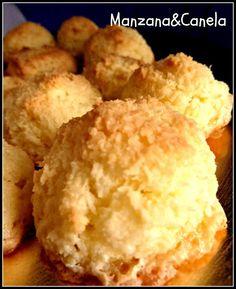 Cocadas: pastelitos de coco