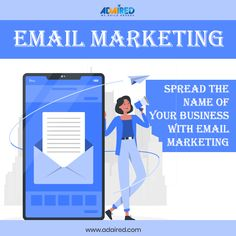 Email📧 Marketing is one of the best ways of marketing that allows you to connect🔌 with your target audience👥. It is extremely effective and your business🏢 can see great😃 results. Get the finest Email📧 Marketing strategy by contacting the💁♂️ team of AdAired Digital Media.  Give us a call☎️ on +91 89074 00008 to know more about us.  #emails #emailmarketing #email #emailmarketingtips #emailsuccess #onlinemarketing #digitalmarketing #marketing #emailcampaign #emailing  #smallbusiness