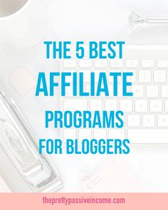 My favourite way to monetise that blog is through affiliate marketing!