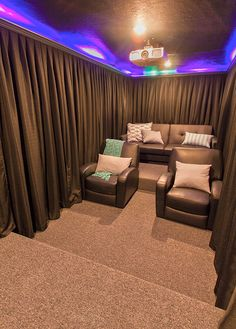Our Home Theater Room: The Reveal   Jenna Sue Design Blog
