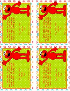 ::Invitation and Paper::editable elmo invitation Elmo Invitations, Birthday Party Invitations Free, Sesame Street Party, Sesame Street Birthday, Elmo Birthday, 3rd Birthday Parties, Happy Birthday, Elmo Party Decorations, Second Birthday Ideas