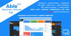Able pro Responsive Bootstrap 4 Admin Template  -  https://themekeeper.com/item/site-templates/able-pro-responsive-bootstrap-4-admin-template