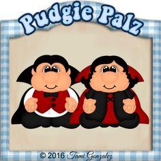 Pudgie Palz Drac and Vira