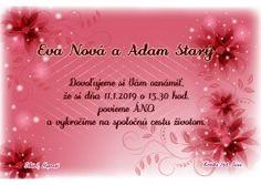 Svadobné oznámenie - SO223