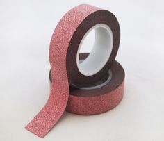 red glitter tape,red bling bling glitter tape,red stock glitter tape,red flicker tape