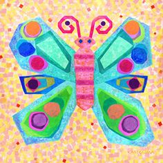 Jewel Butterfly (for all the cut up gift cards)