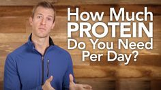 http://draxe.com/ In today's video, I'm going to go over how much protein you should consume in a day. Protein is essential for building muscle, burning fat,...