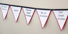 Great ideas for a back to school FHE (choosing good friends, learning, get good grades, etc).