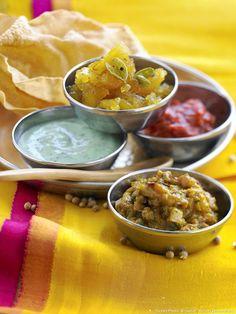 Sauces indiennes et chutneys