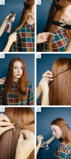 How-To: Sleek Twist with L'Oreal Paris Advanced Hairstyle @hairstyledotcom