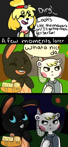 I do this all of the time! Do the villagers ever get confused when suddenly the time changes.
