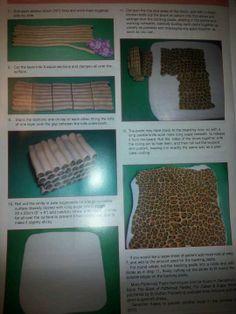 Fondant leopard print tutorial