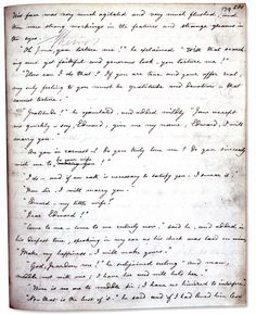 Charlotte Bronte's copy of Jane Eyre, written out by hand to be sent for publication-25 different works shown